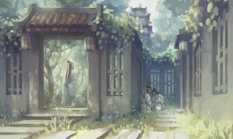 Artstation Mo Dao Zu Shi Fan Art Ii Nhi Ho