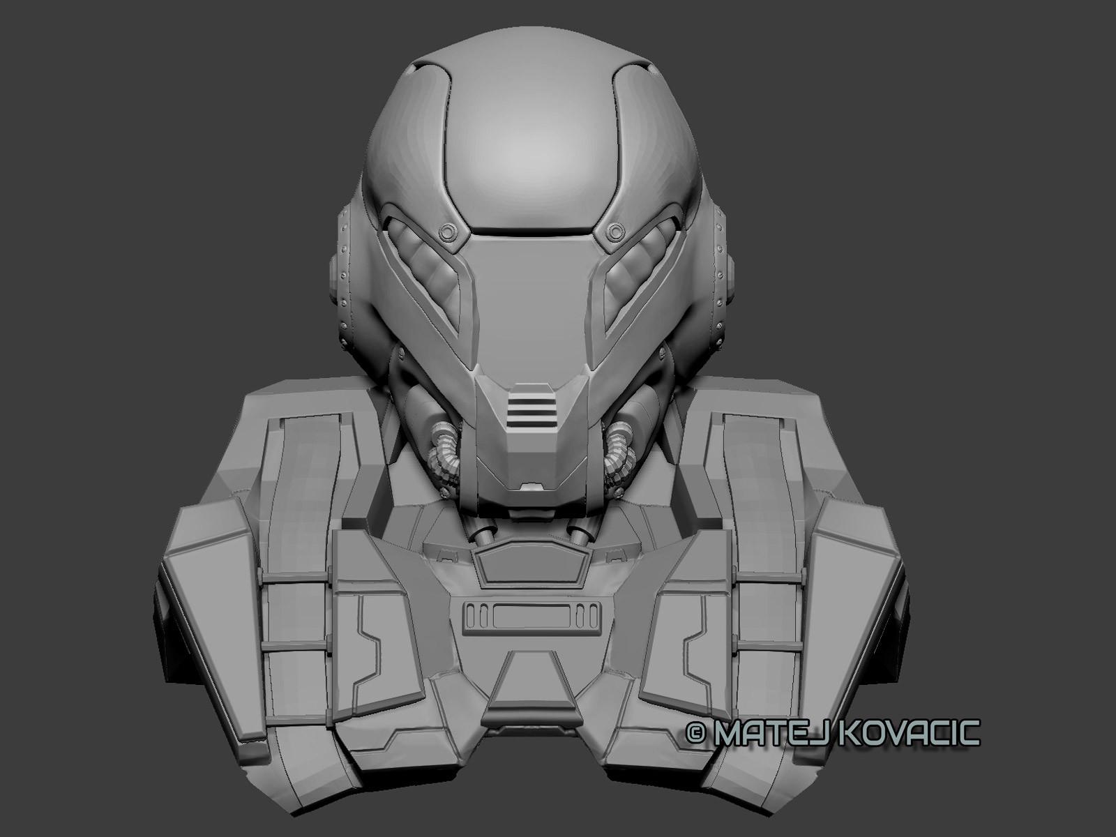 Matej kovacic sci fi helmet rx 51 zb front2 by matej kovacic