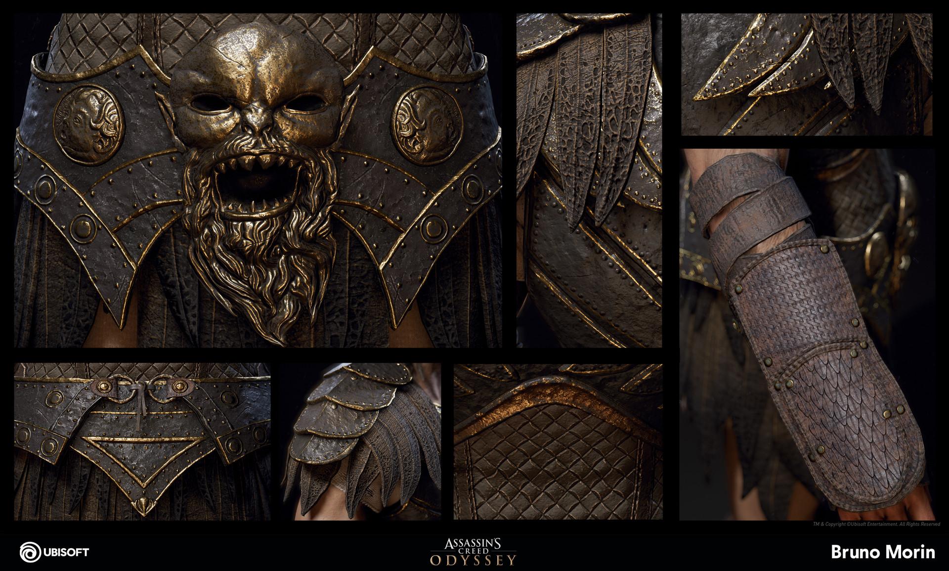 ArtStation - Assassin's Creed Odyssey - Kronos Armor, Bruno Morin