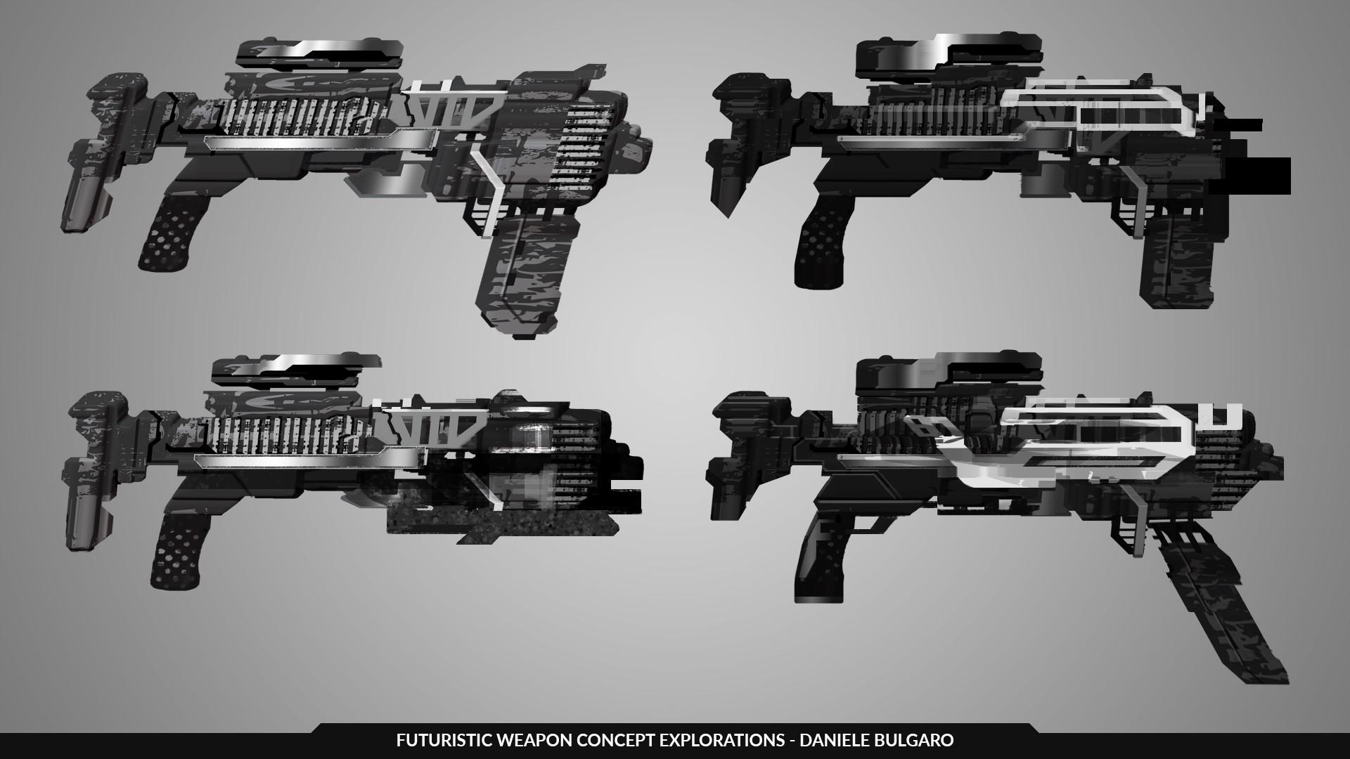 Daniele bulgaro weapon explorations danbulgaro