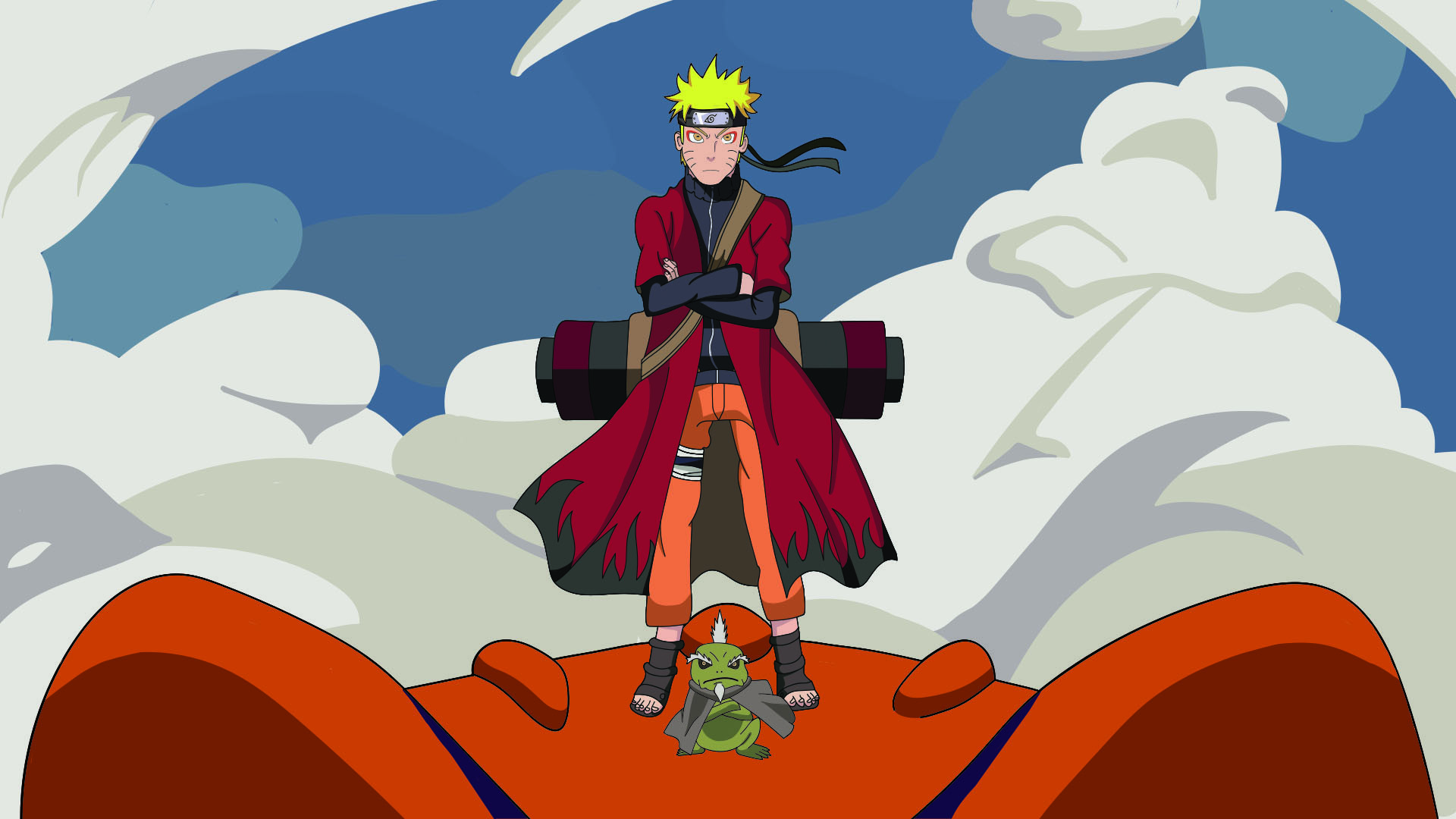 Artstation Sage Mode Naruto Dan Neary