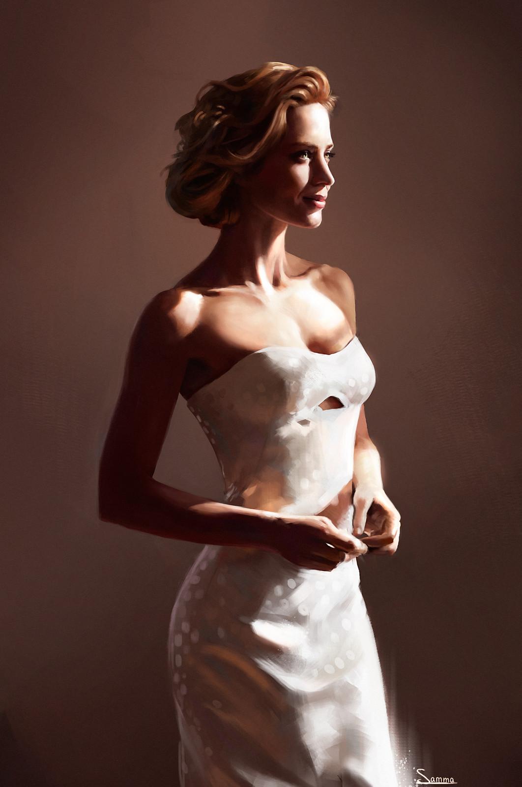 Emily Blunt portrait