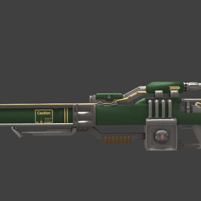 Andrew wilkins fusion rifle texture wip 2