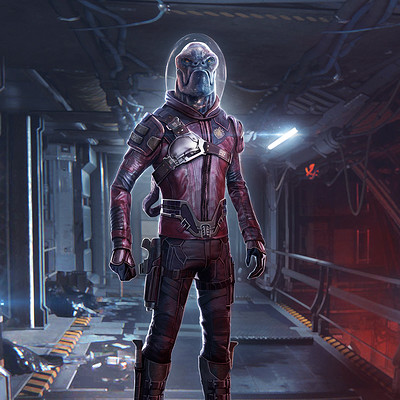 Pablo olivera ravagers guardian of the galaxy concept art a