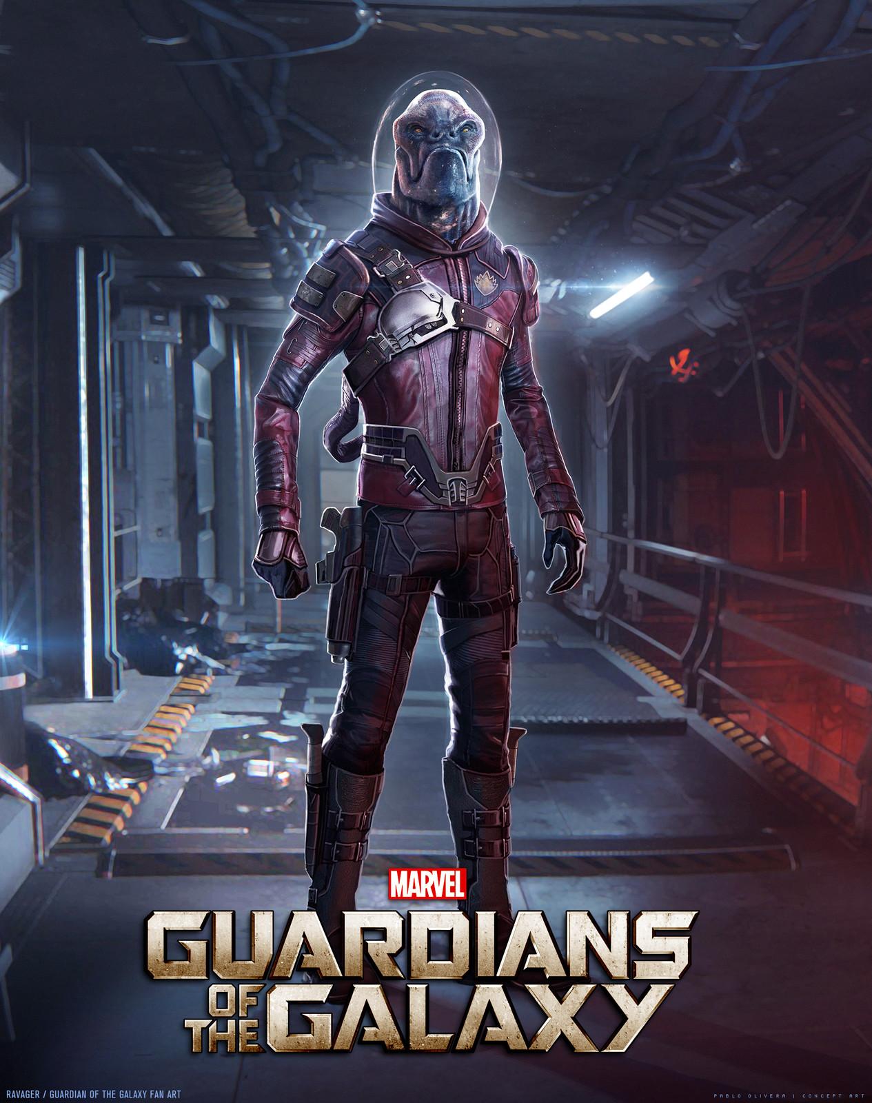 Ravager - Guardians Of The Galaxy Fan Art
