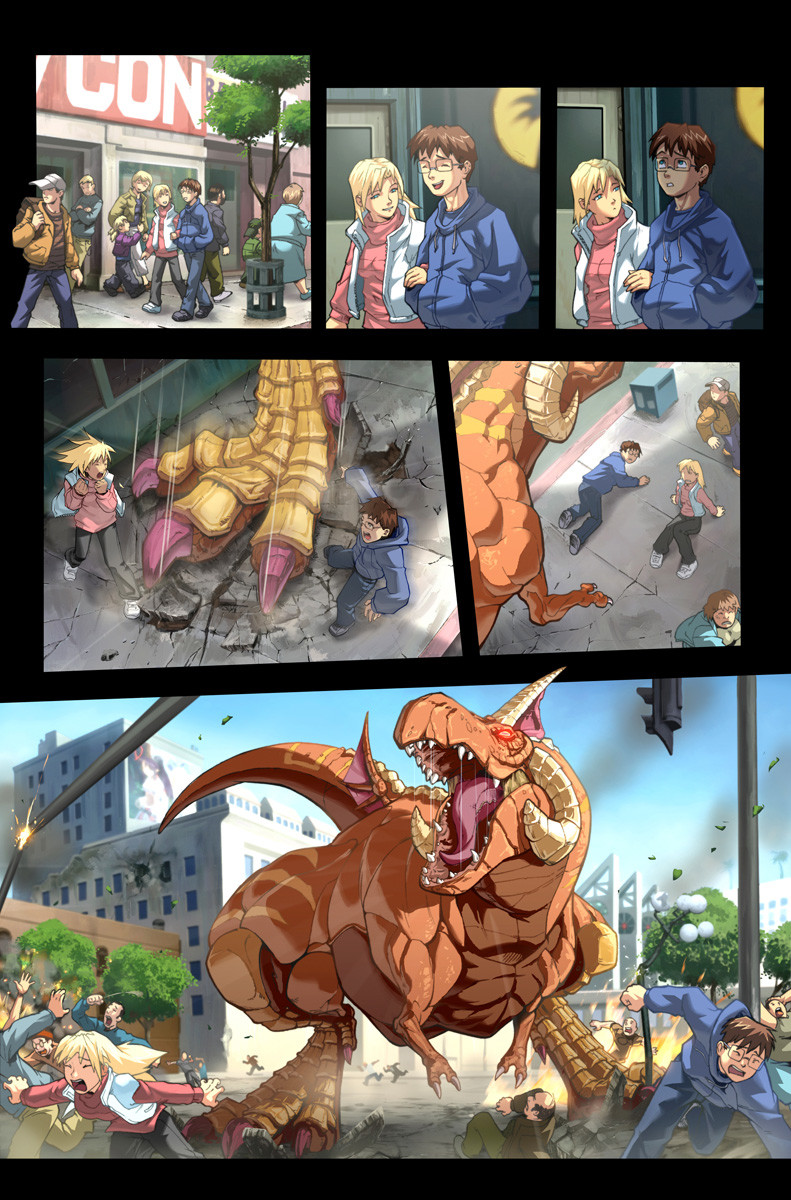 Vitamin imagination fighting evolution hauzer by udoncrew