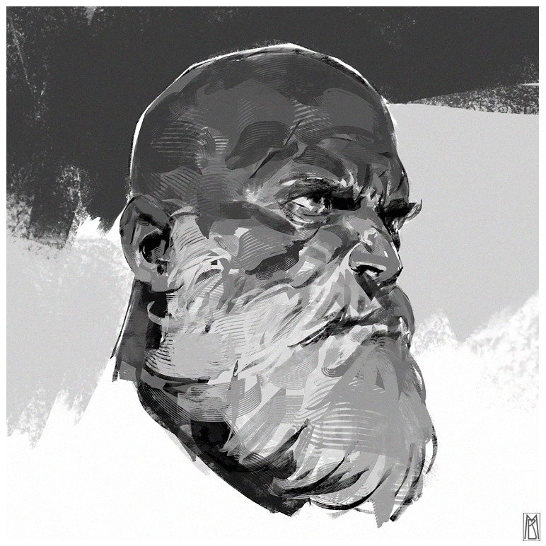 Random head + GIF process