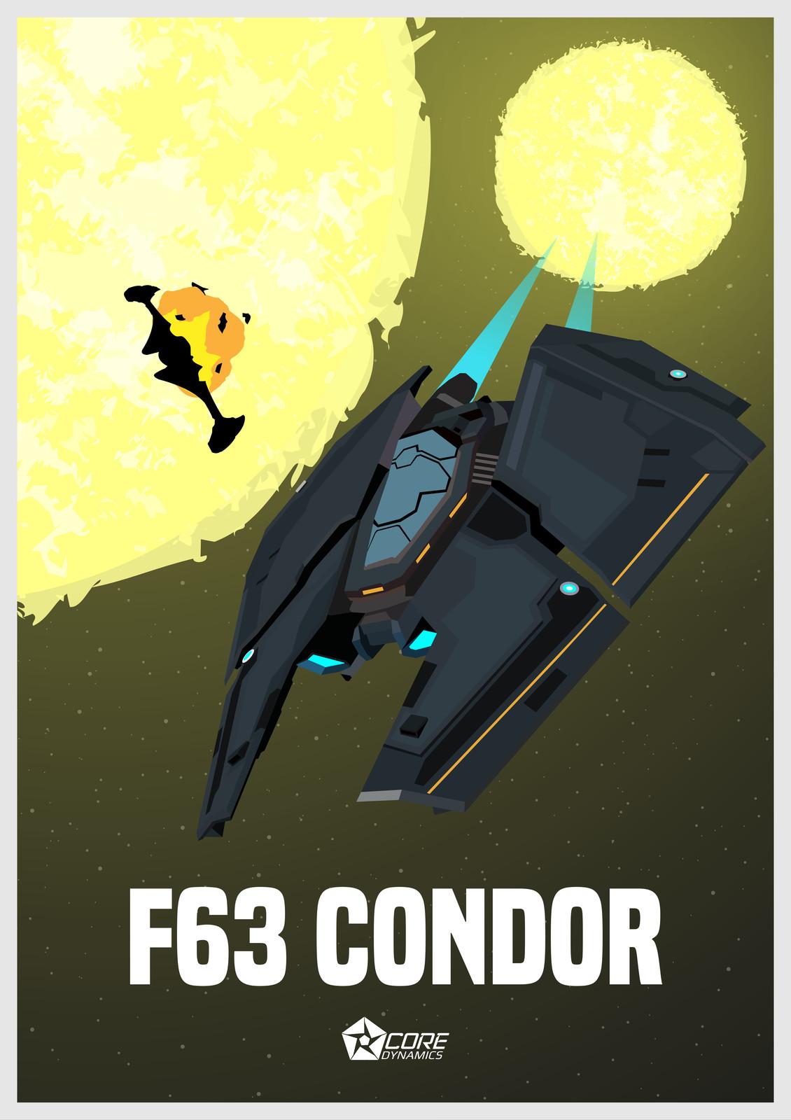Elite Dangerous - F-63 Condor
