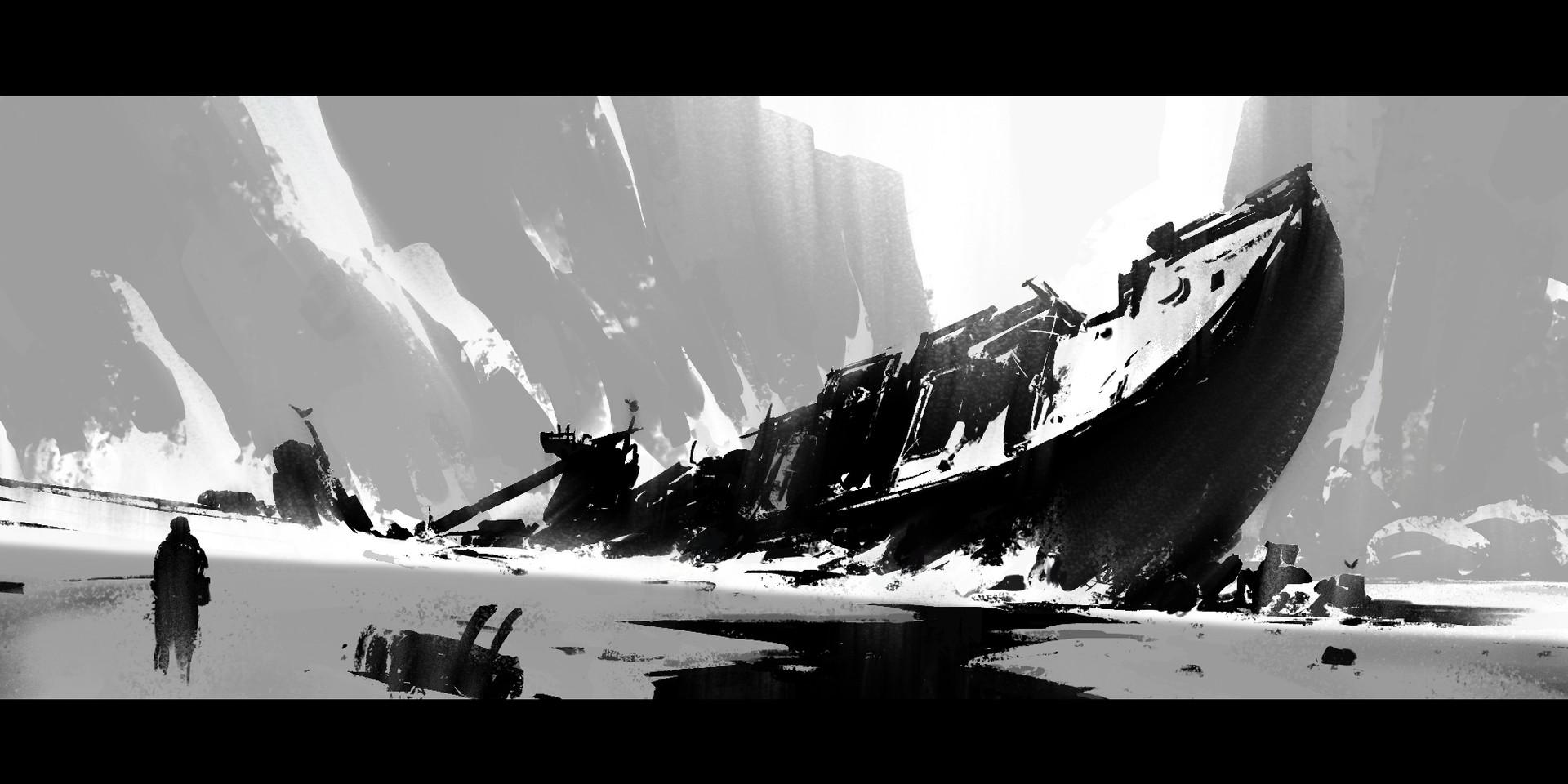 Sathish kumar shipwreck snow