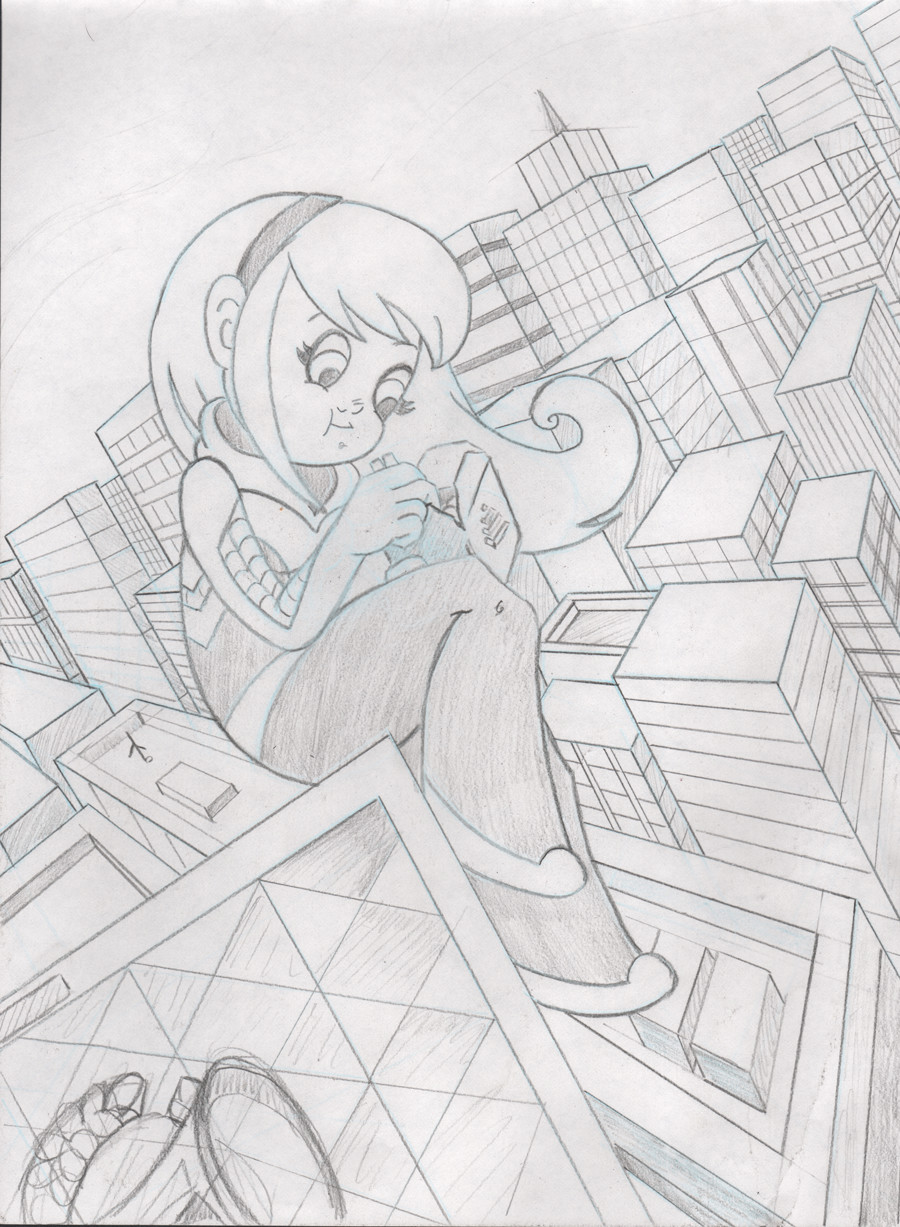 S kay mcgue spidergwen sketch web