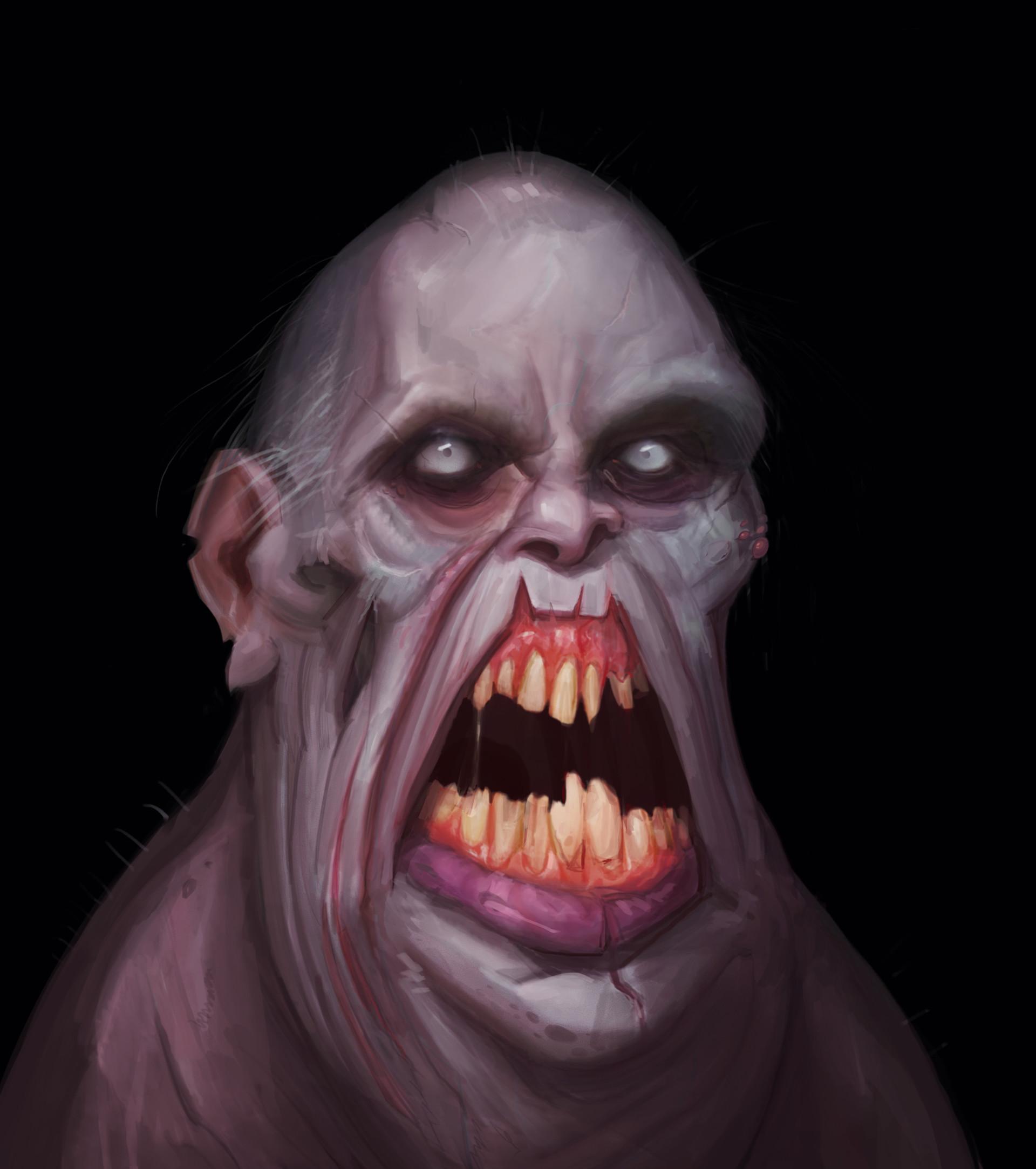 Drakhas oguzalp donduren zombie portrait