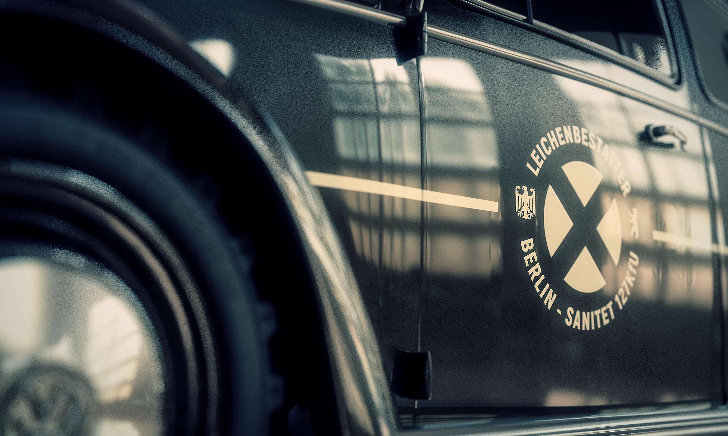 VW Type 1 2400 Diesel, mortician