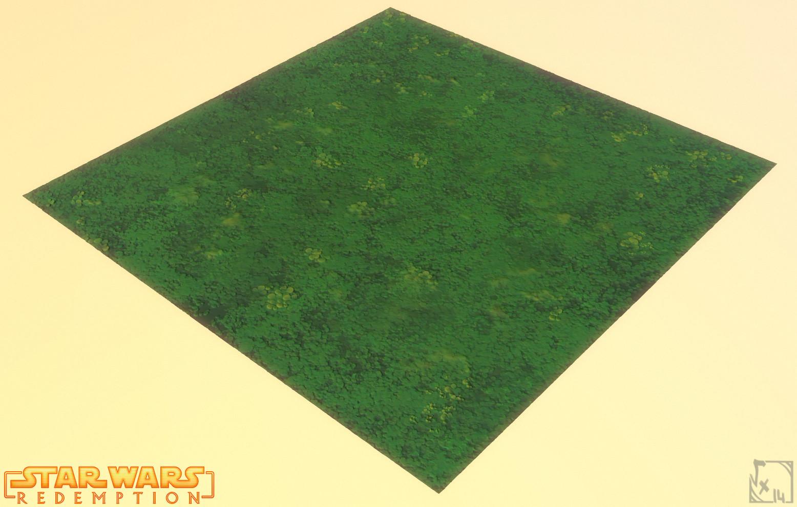 Moss tile