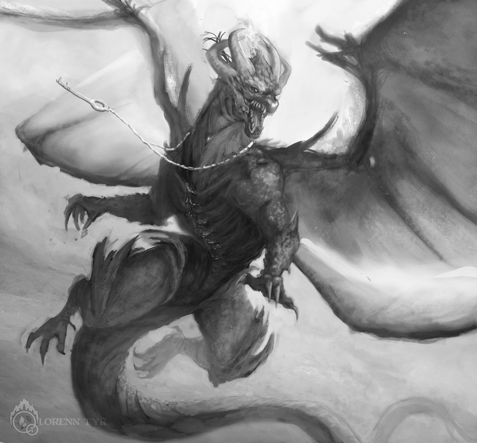 Lorenn tyr dragon poemas