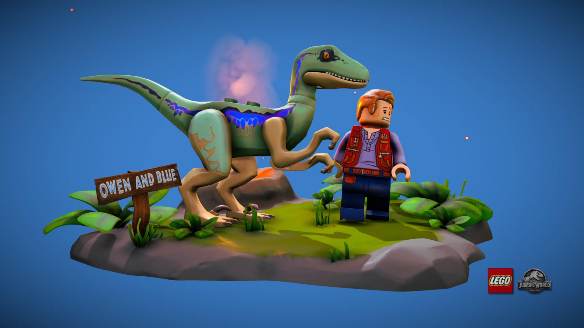 ArtStation - LEGO Jurassic World Fallen Kingdom Blue & Owen