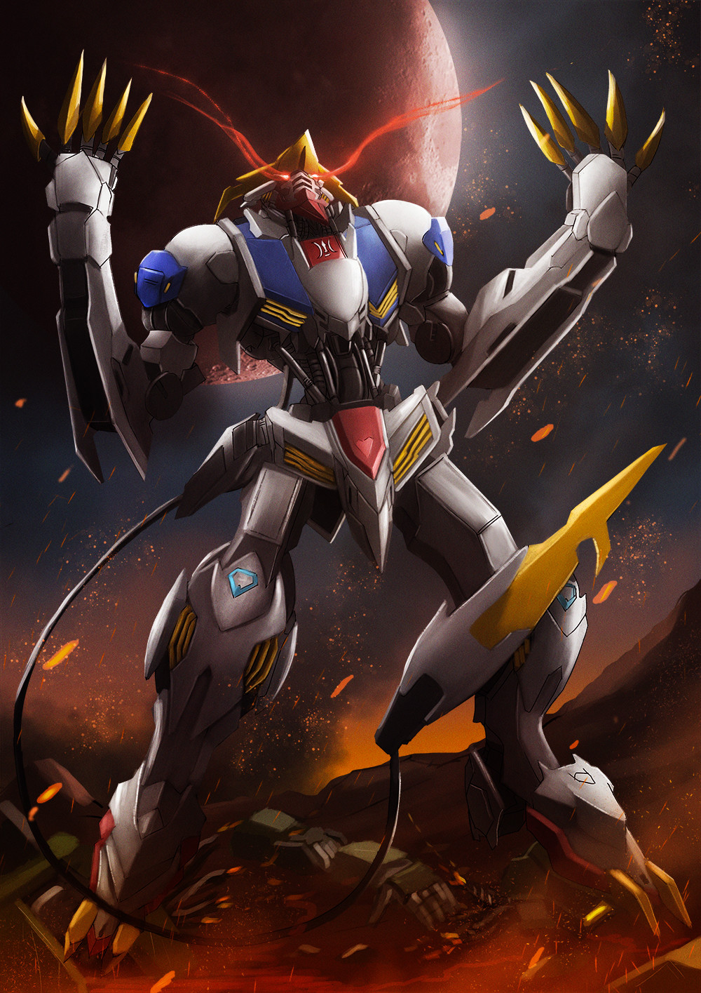 Artstation Barbatos Lupus Rex Sikama 78