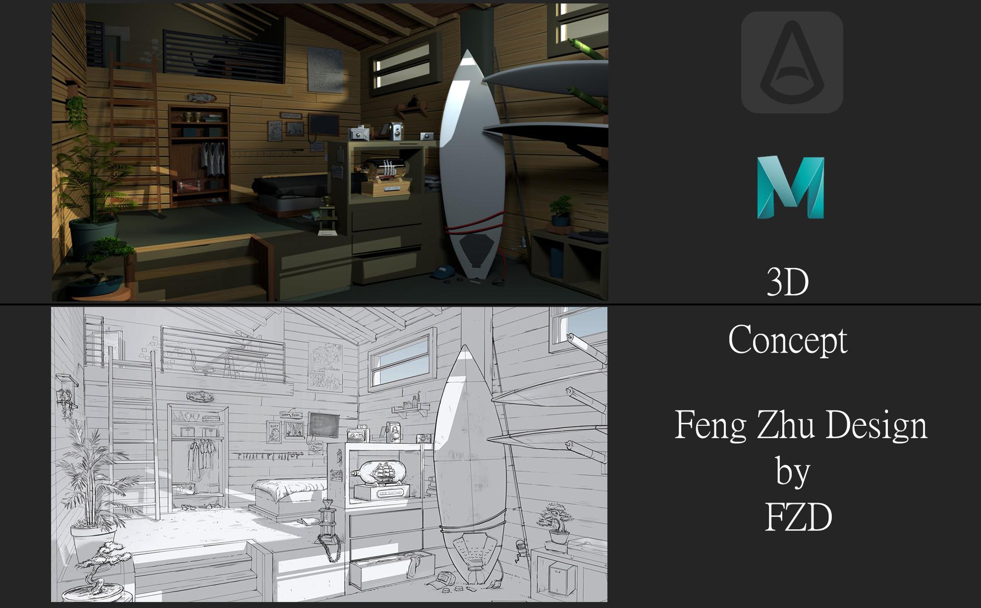 Artstation Feng Zhu Design Edmundo Galindo