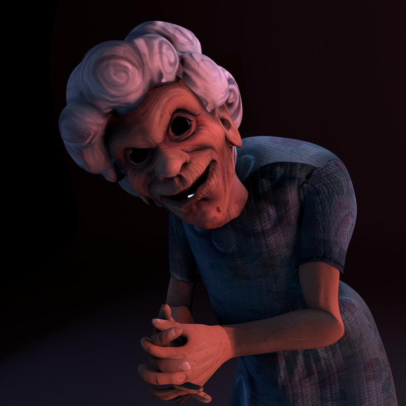 Scary Grandma! (short film animation porject)