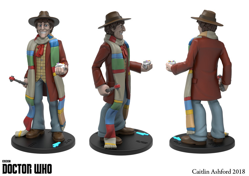 Caitlin ashford 4th doctor turn