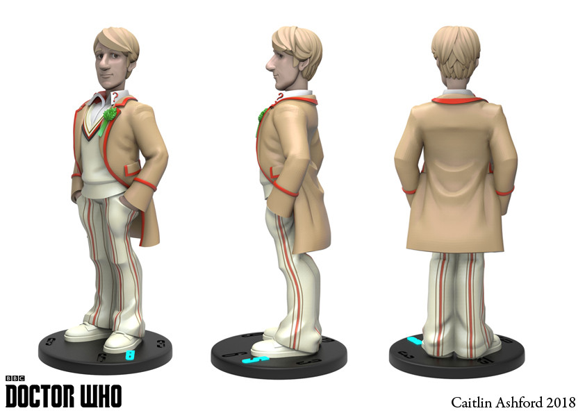 Caitlin ashford 5th doctor turn