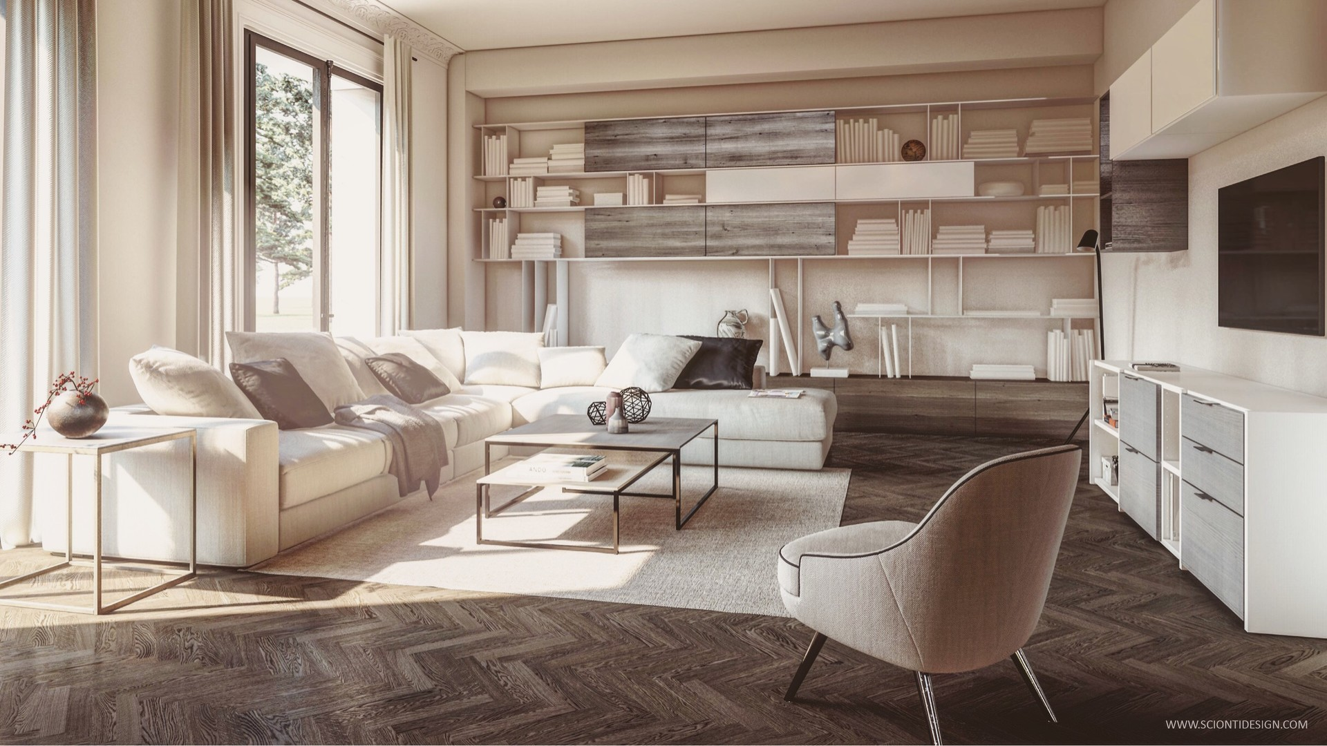 ArtStation - My personal living project render with Lumion 9
