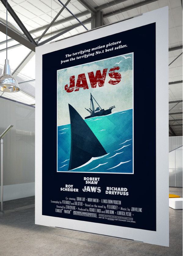 Jaws Exhibition Poster
