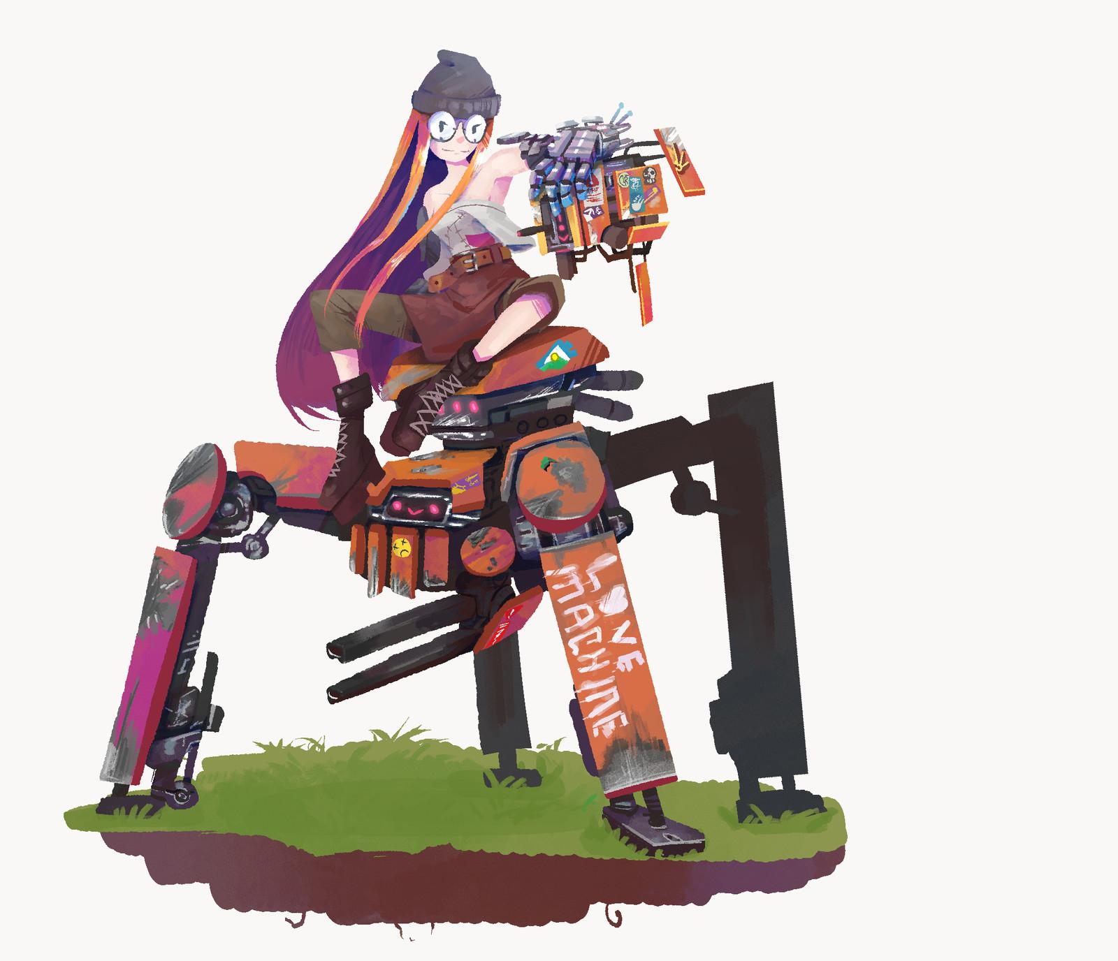 Kill the Sun: Robots