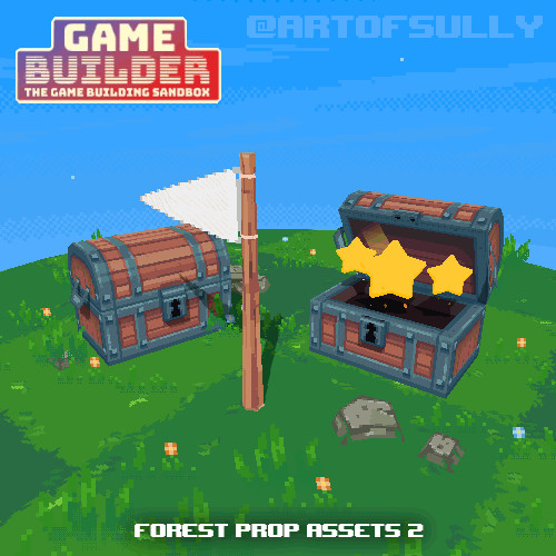 Forest Prop Assets 2 (assets for 'Game Builder')