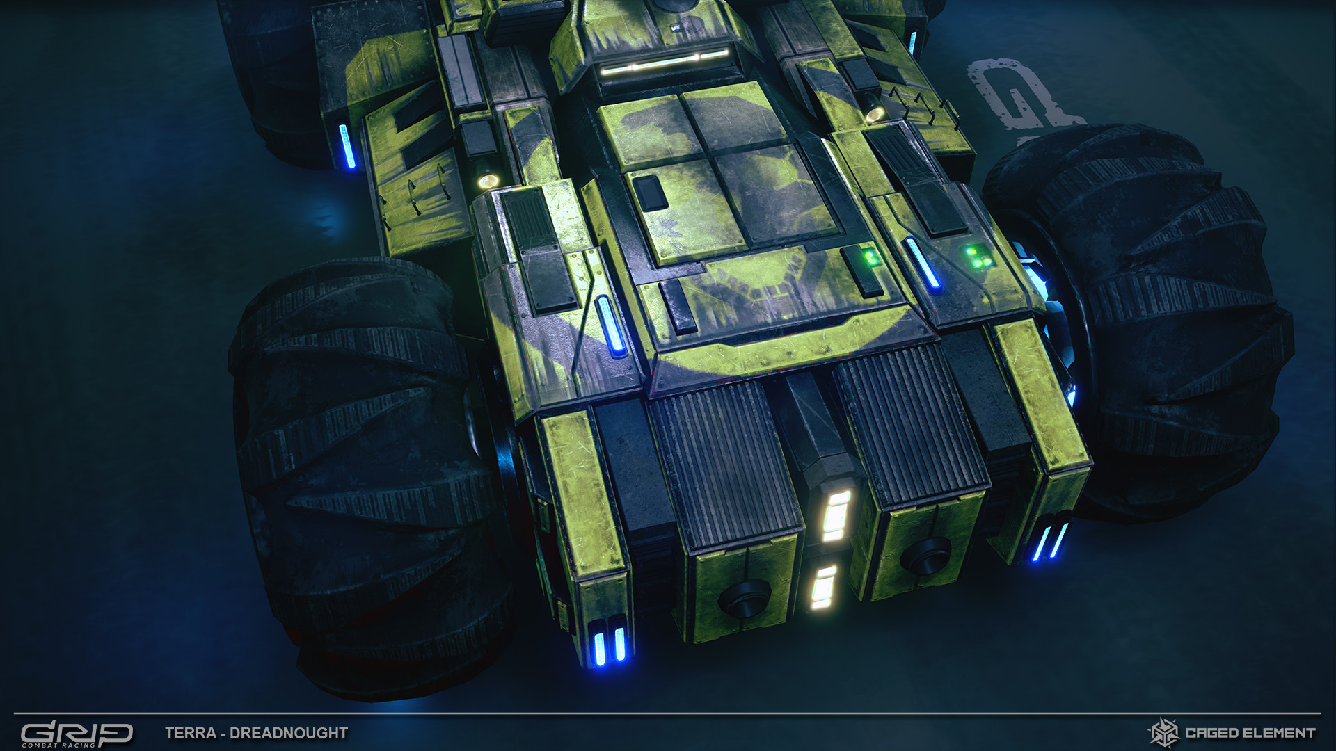 Thomas woodward terra tank 08