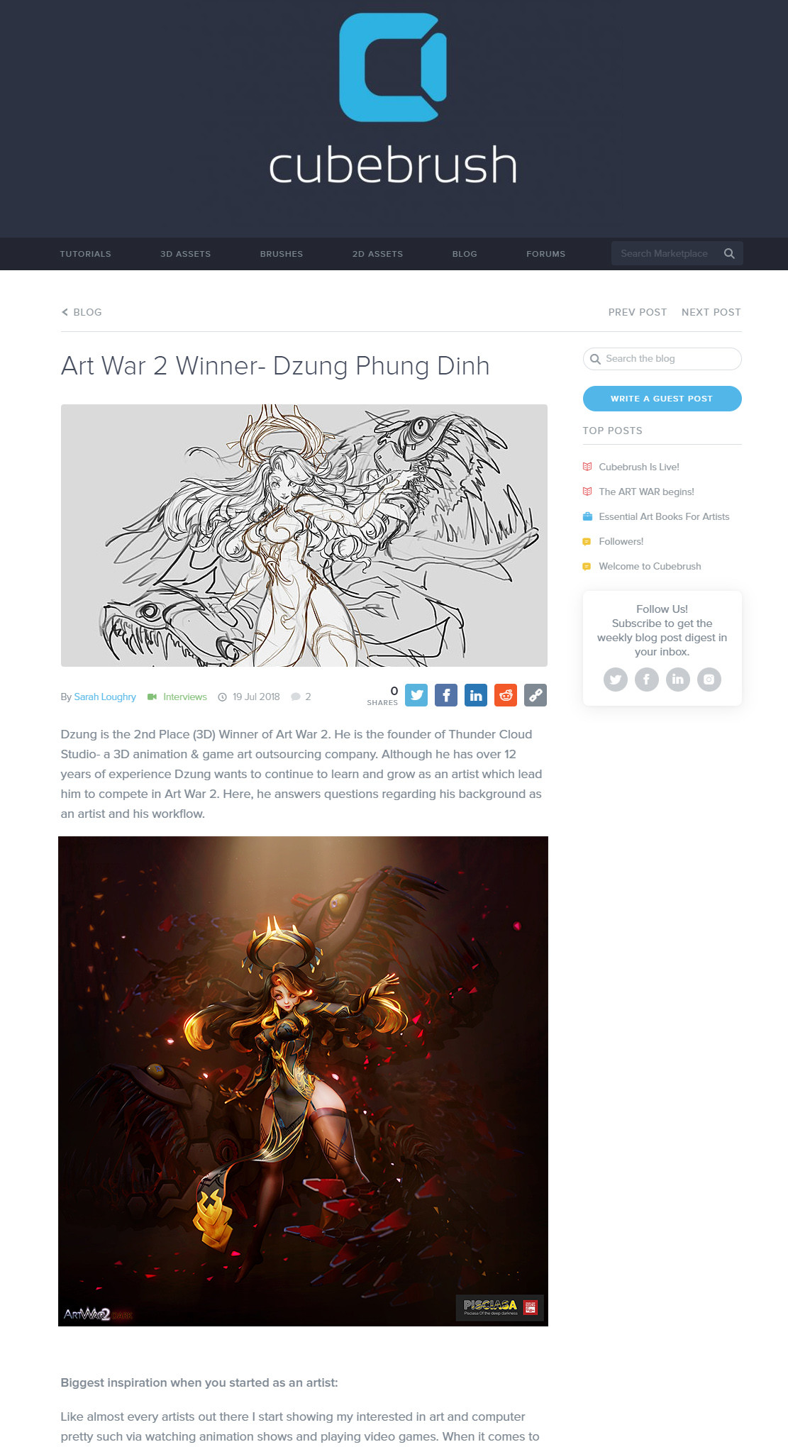 Dzung phung dinh cubebrush interview
