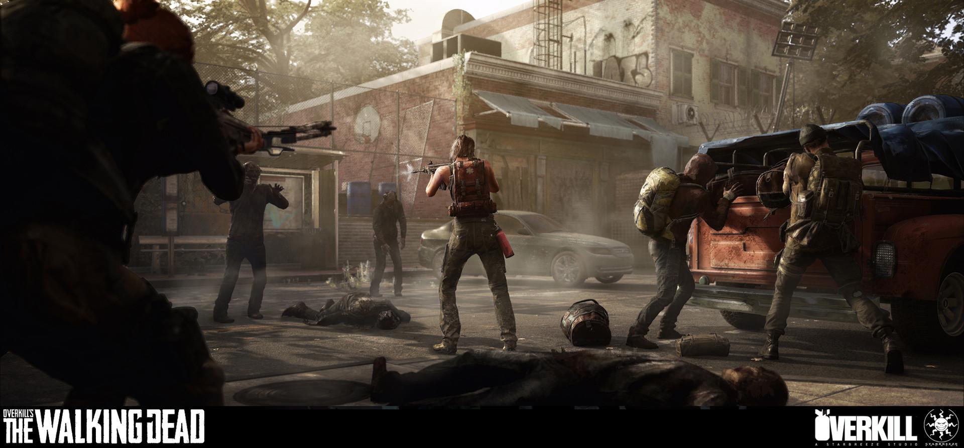 The Walking Dead Game Concept Art - The Walking Dead