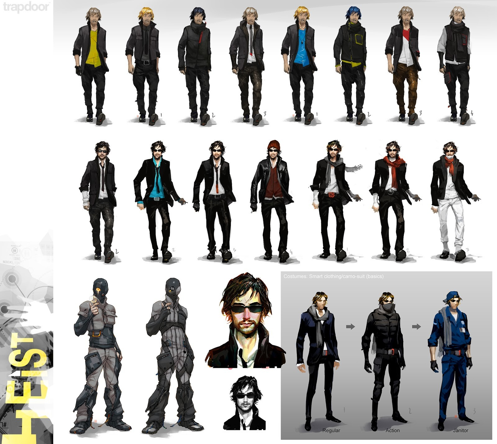 Thierry doizon bt heist characters01