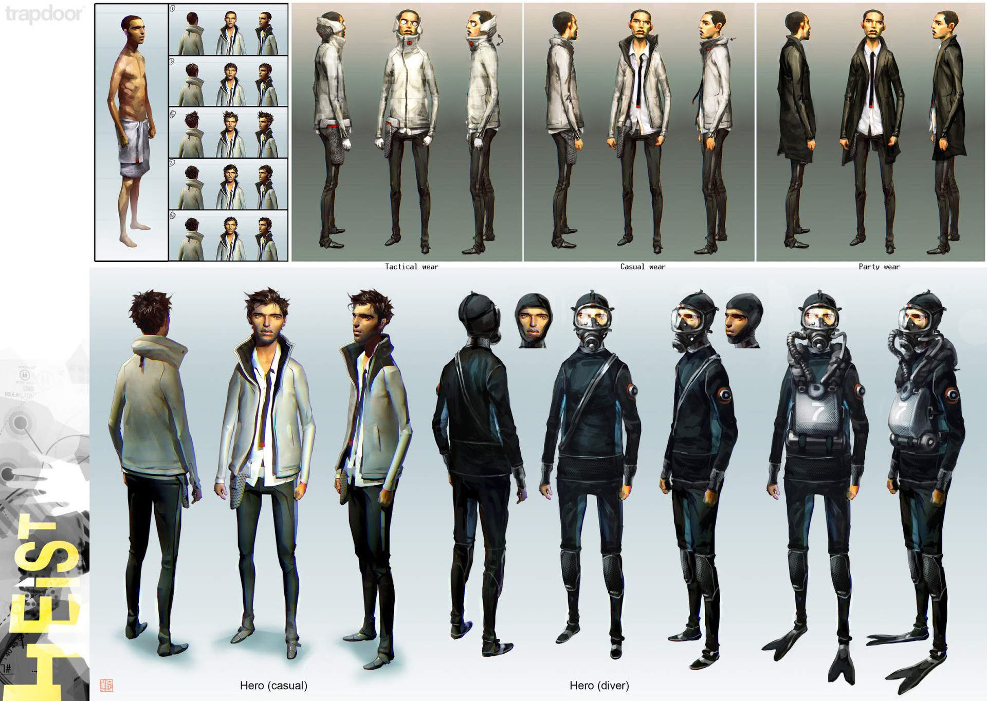 Thierry doizon bt heist characters08
