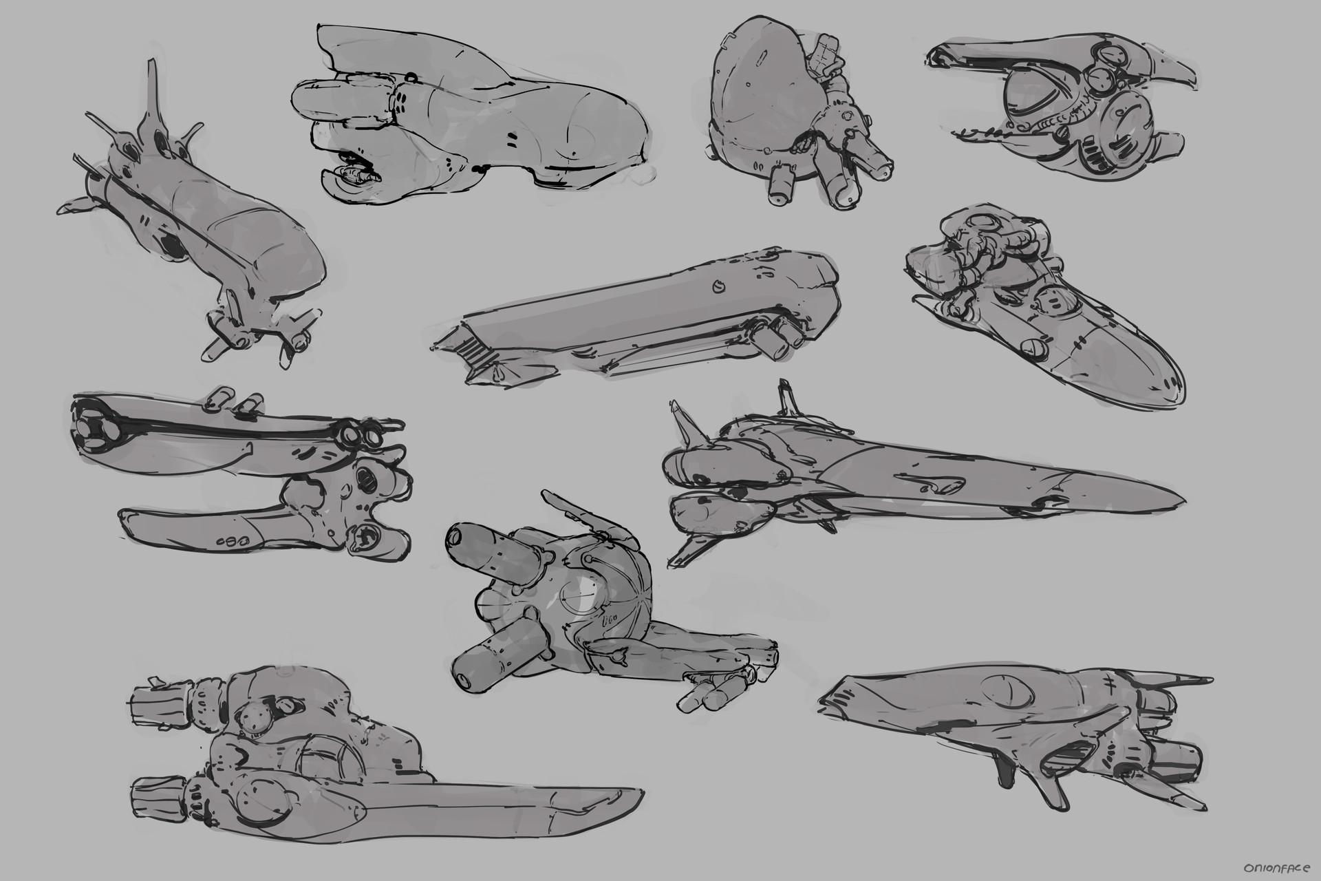West clendinning spaceship doodles 02