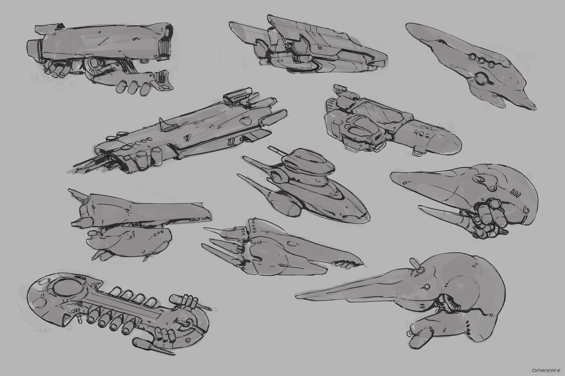 West clendinning spaceship doodles 01