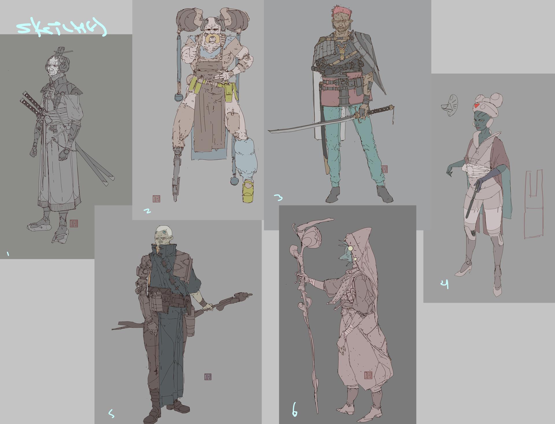 Tano bonfanti sketches