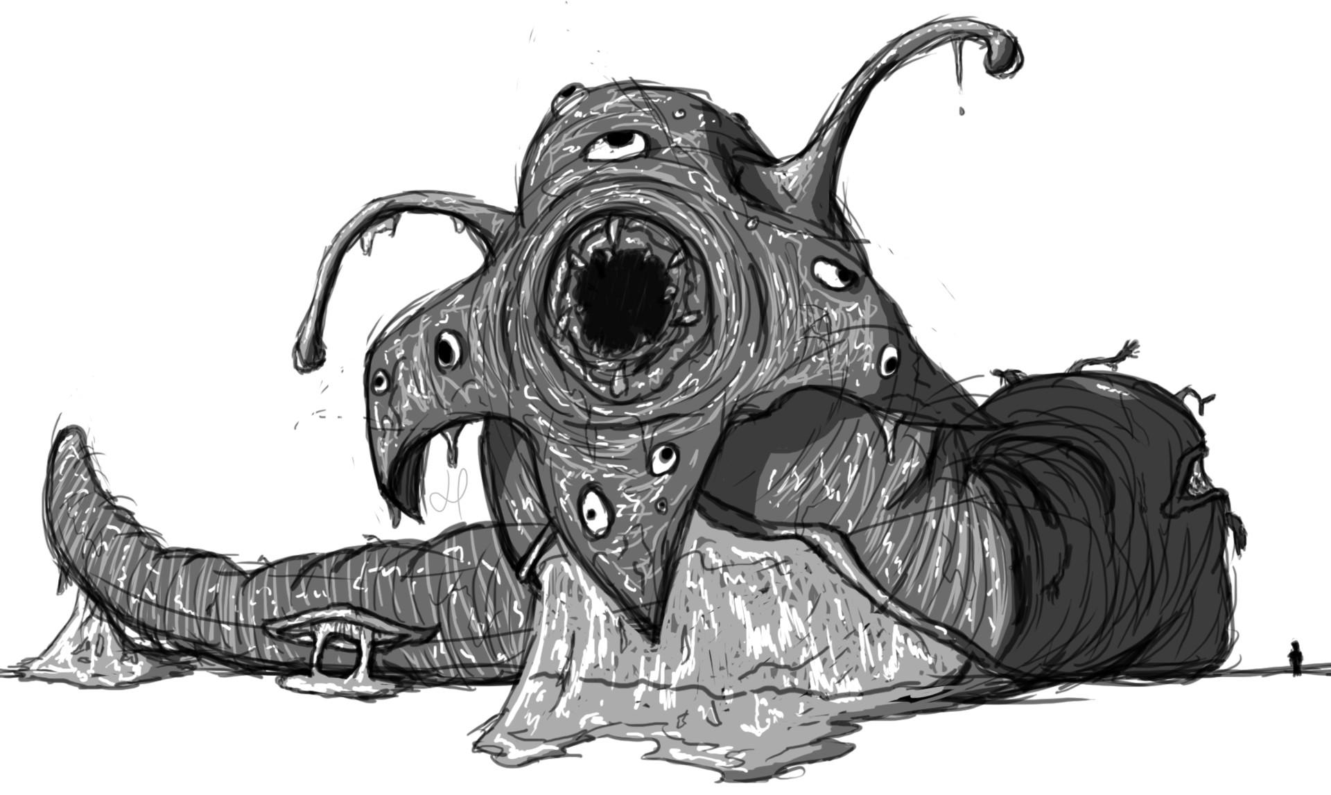 Artstation Monster Doodles Holly Barry