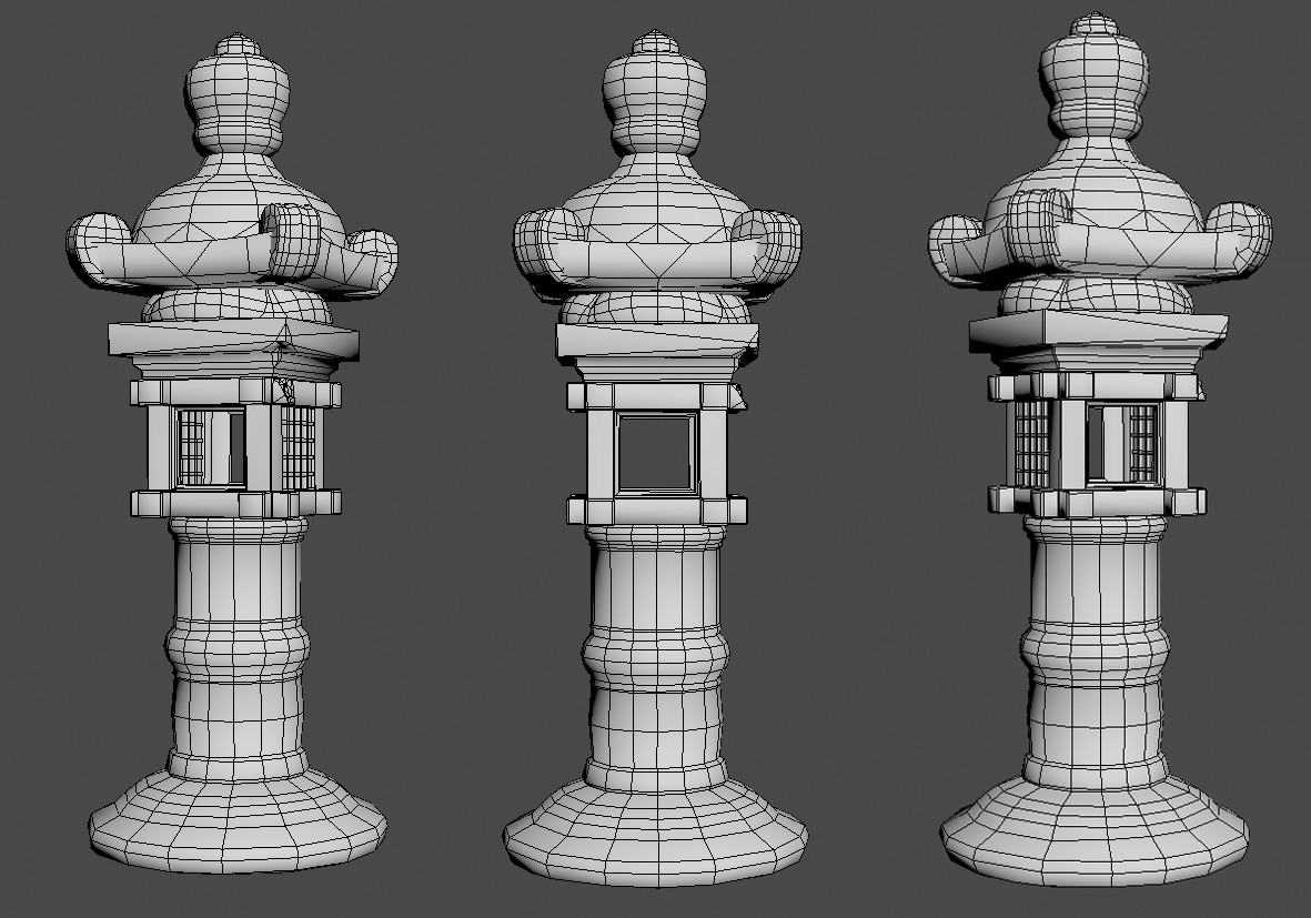 3DS Max low poly
