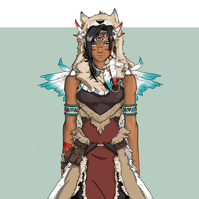 Traditional Shaman Design