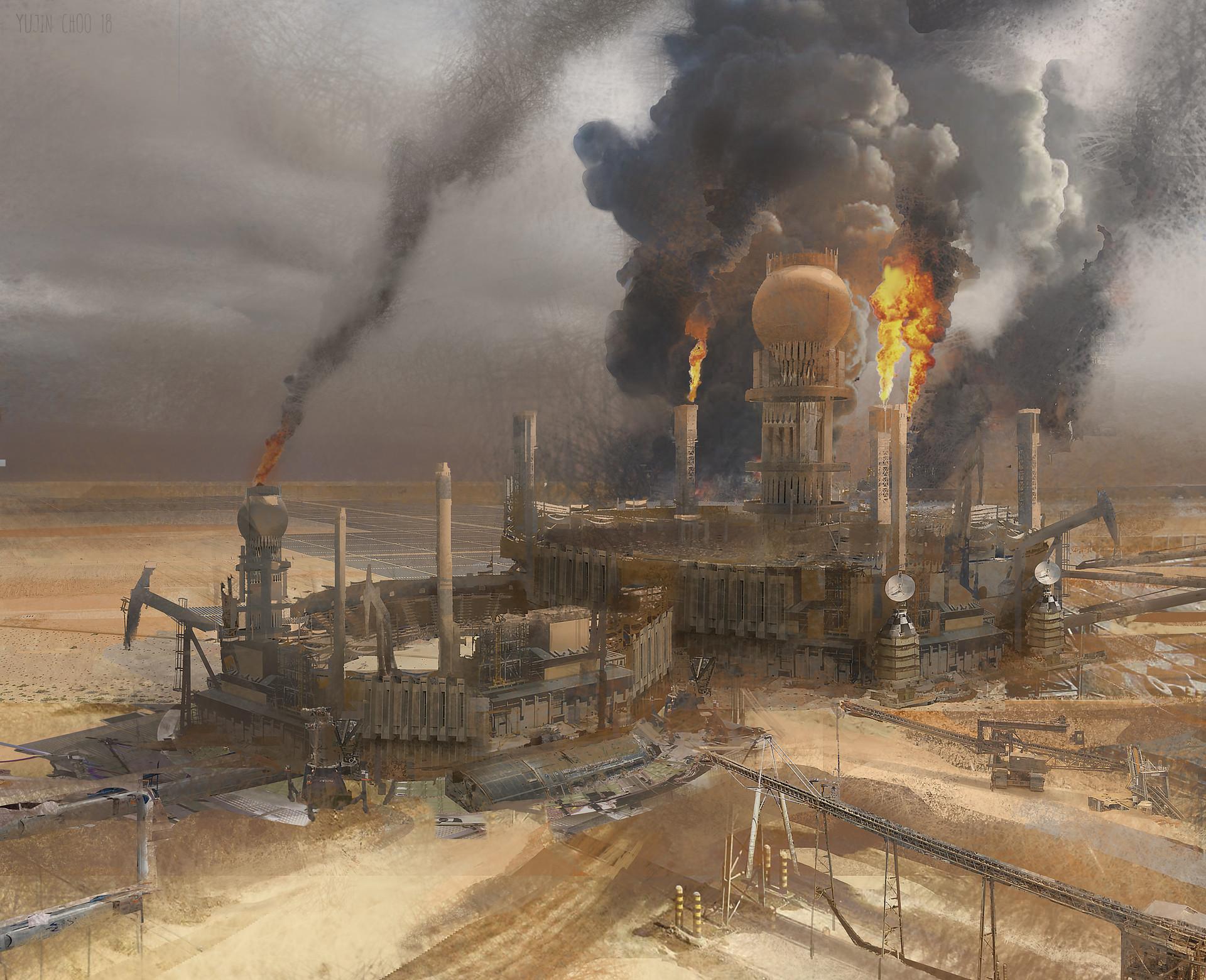 Yujin choo oilfield finish