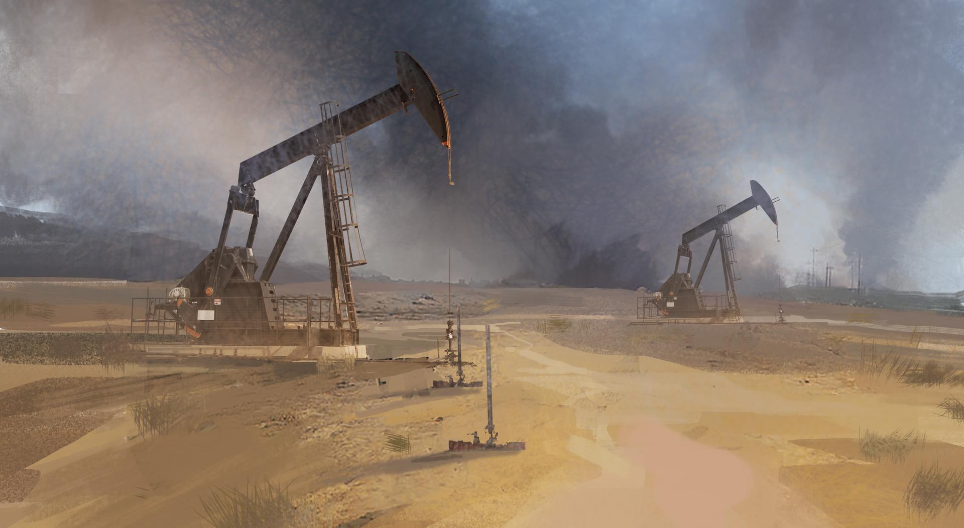 Yujin choo oilfield2 sketch