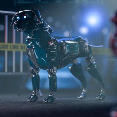 2035 POLICE DOG