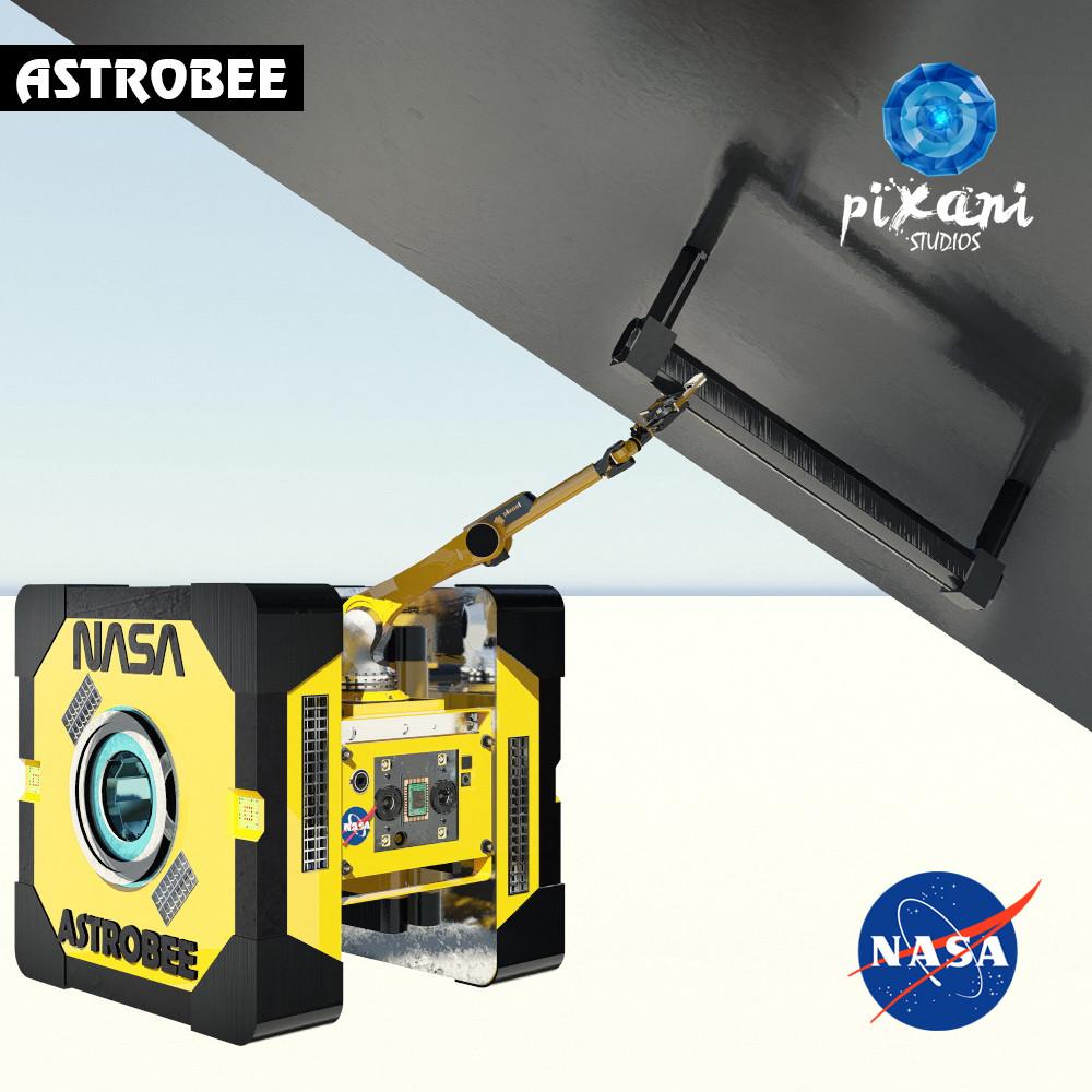 Astrobee Smart Robotic Arm is designed by Serdar Çakmak, Pixani Studios, included mechanism, technical design and electrical-software design with 3D renders and animations too. #pixanirenders #SRA #Astrobee #NASA #pixanistudios