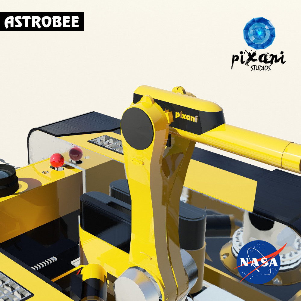 ASTROBEE SRA  Pixani & NASA  1st Carbon Fiber reinforced with Phenolic composites used ROBOT