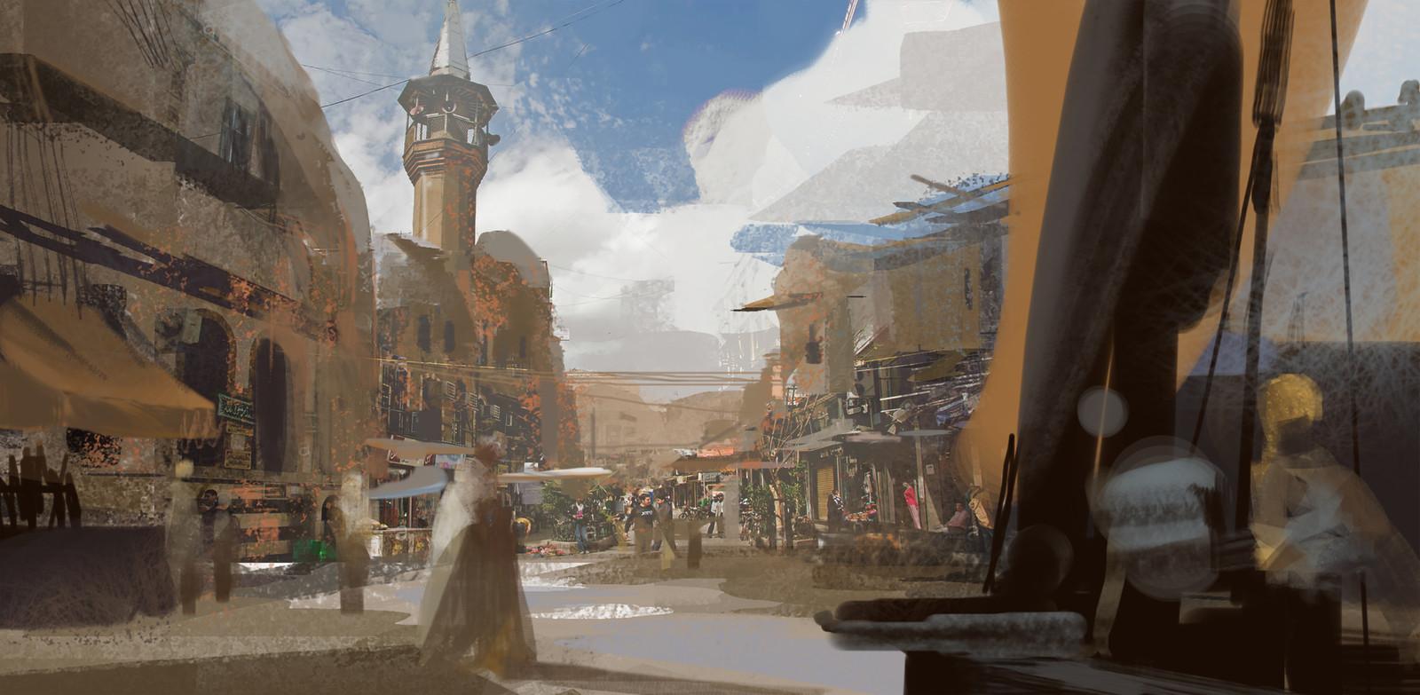 Xerxian Hideout / Insurgent sketch01