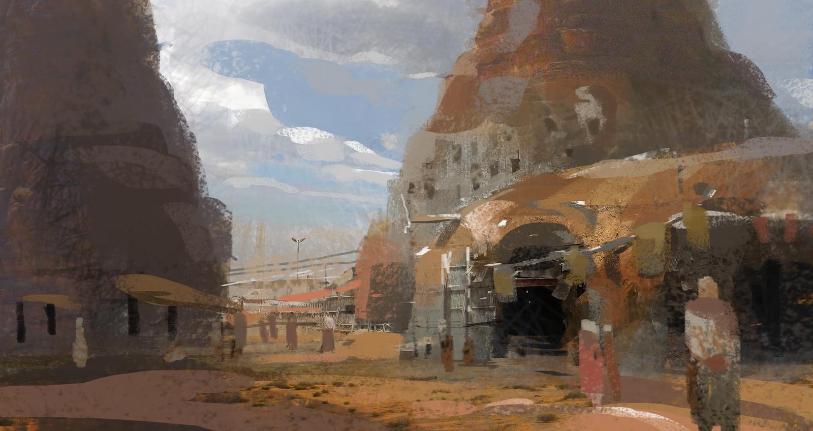 Xerxian Hideout / Insurgent sketch02