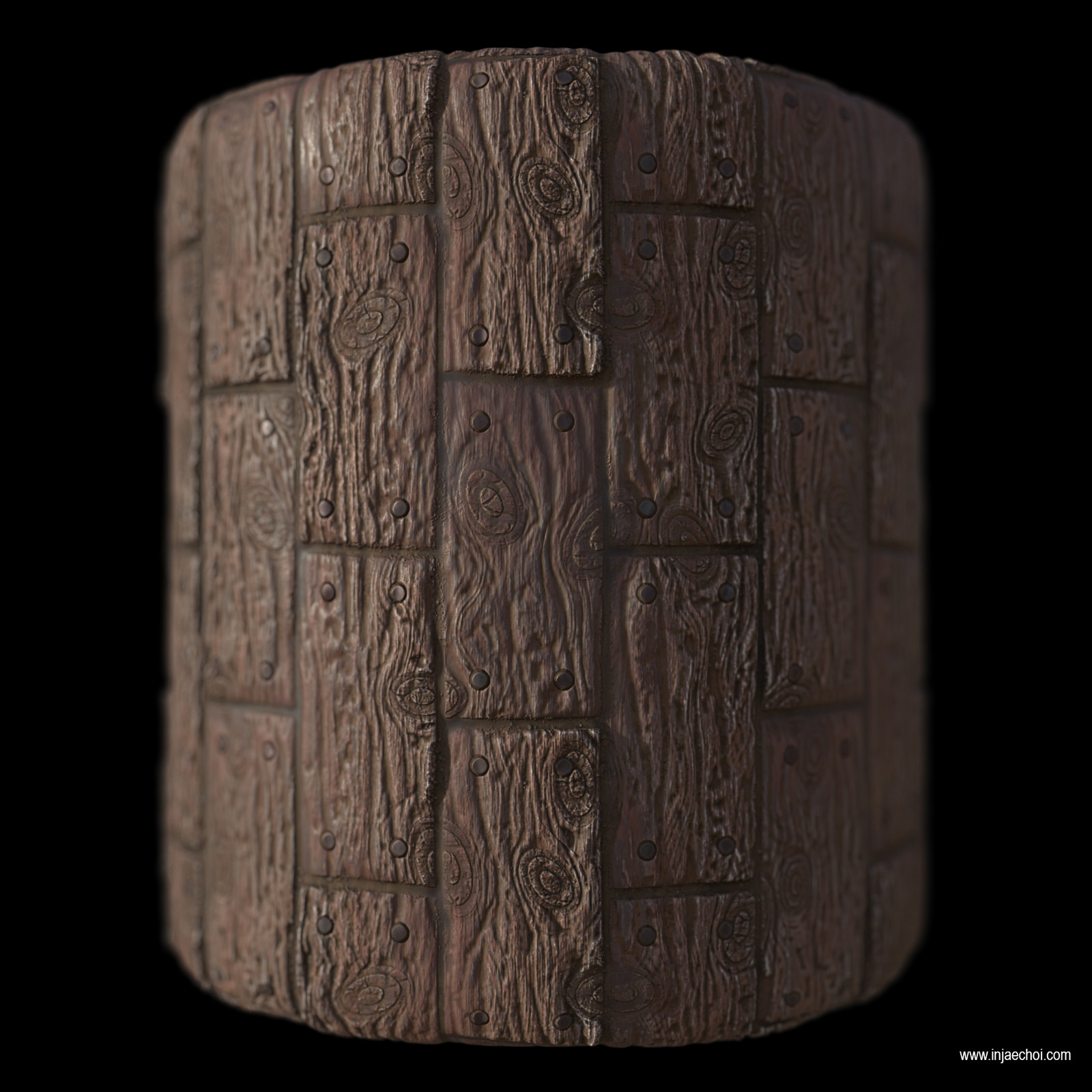 Aged wood Planks Substance Designer Study (100% Procedeual)