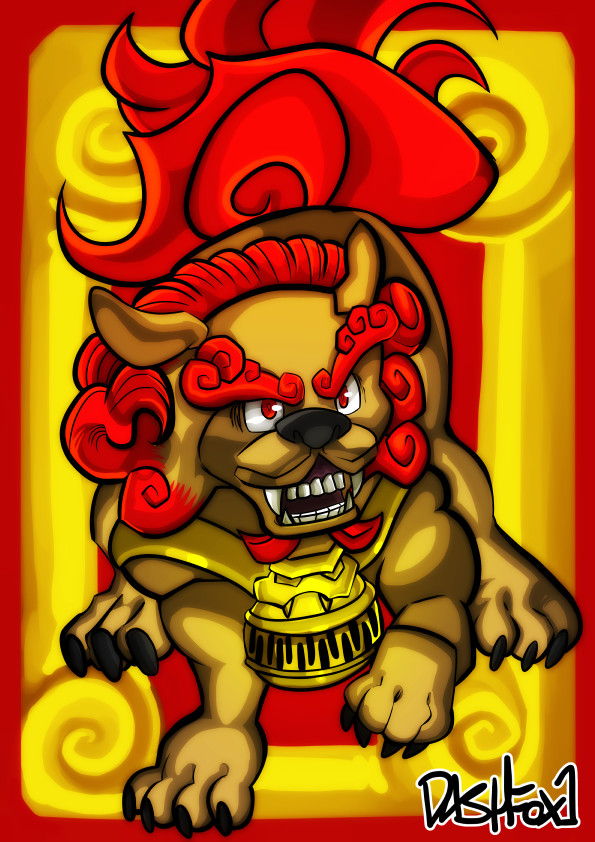Fu Lion or is it Dog