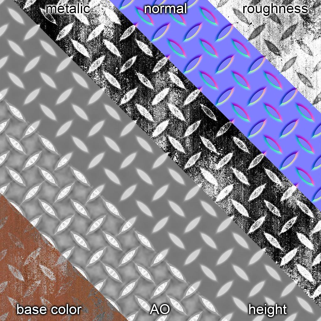 Metal Shader Maps