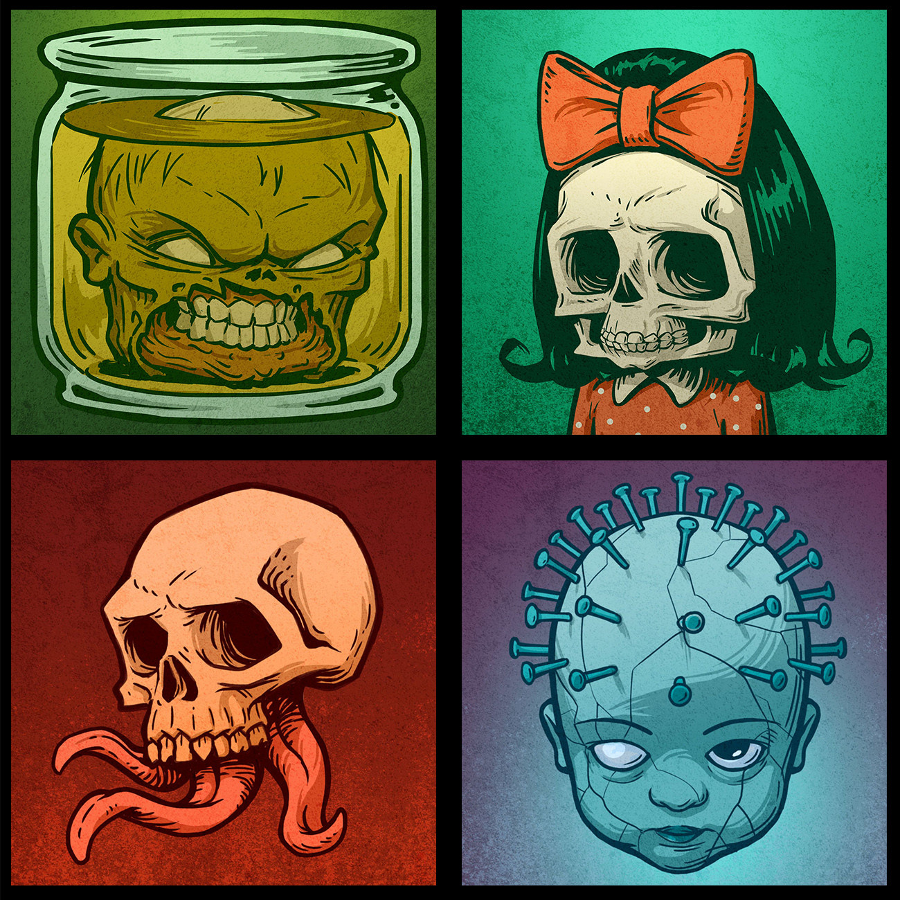 ArtStation - Dying Light: Bad Blood - Player avatars, Emil